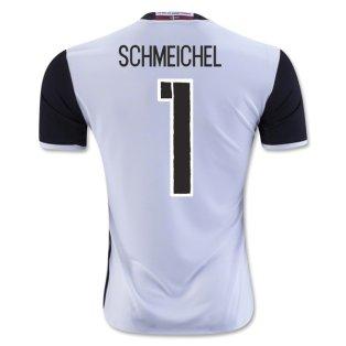 2016-2017 Denmark Away Shirt (Schmeichel 1) - Kids