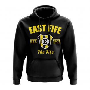 East Fife Established Hoody (Black)