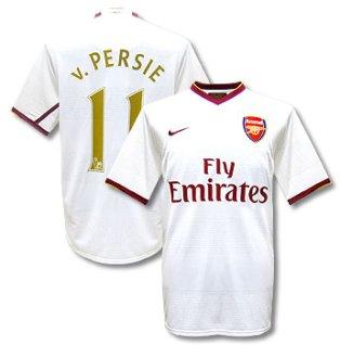 07-08 Arsenal away (V.Persie 11)