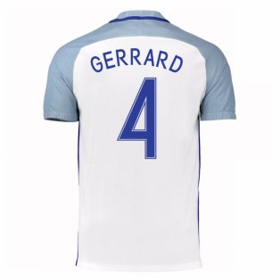 2016-17 England Home Shirt (Gerrard 4) - Kids