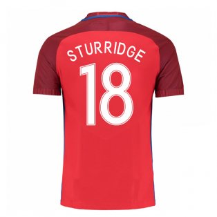 2016-17 England Away Shirt (Sturridge 18) - Kids