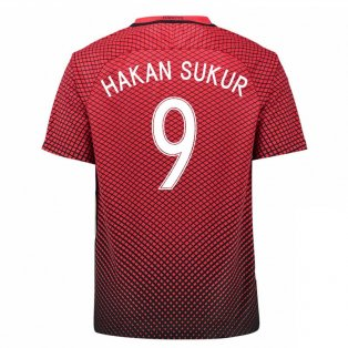 2016-17 Turkey Home Shirt (Hakan Sukur 10)