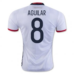 2016-17 Colombia Home Shirt (Aguilar 8)