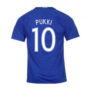 2016-17 Finland Away Shirt (Pukki 10)