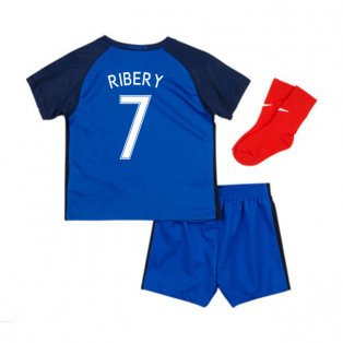 2016-17 France Home Baby Kit (Ribery 7)