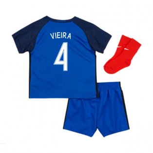 2016-17 France Home Baby Kit (Vieira 4)