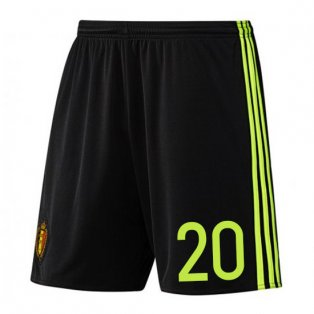 2016-17 Belgium Home Shorts (20) - Kids