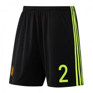 2016-17 Belgium Home Shorts (2) - Kids