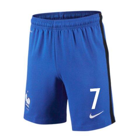 2016-17 France Home Shorts (7) - Kids