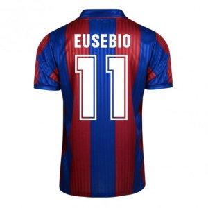 Score Draw Barcelona 1992 Home Shirt (Eusebio 11)