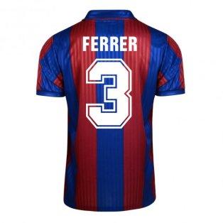 Score Draw Barcelona 1992 Home Shirt (Ferrer 3)