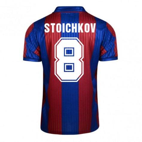 Score Draw Barcelona 1992 Home Shirt (Stoichkov 8)