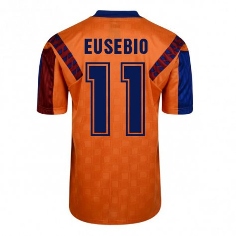 Score Draw Barcelona 1992 Away Shirt (Eusebio 11)