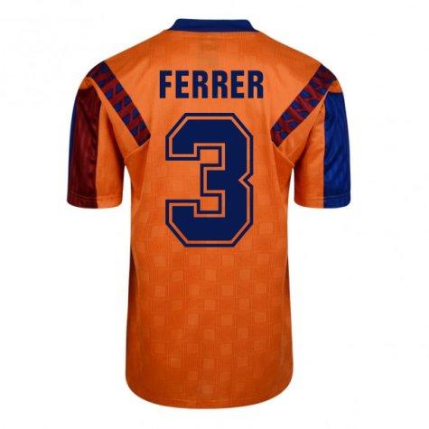 Score Draw Barcelona 1992 Away Shirt (Ferrer 3)