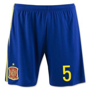 2016-17 Spain Home Shorts (5) - Kids