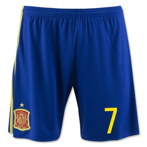 2016-17 Spain Home Shorts (7) - Kids
