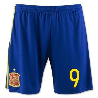 2016-17 Spain Home Shorts (9) - Kids