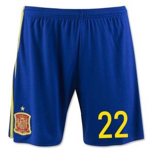 2016-17 Spain Home Shorts (22) - Kids