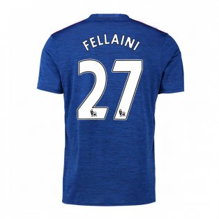 2016-17 Manchester United Away Shirt (Fellaini 27) - Kids