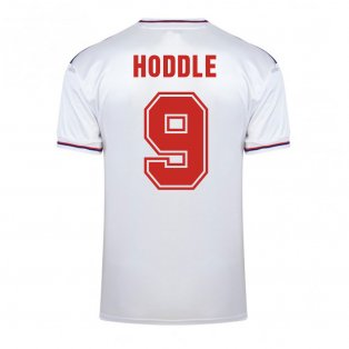 Score Draw England World Cup 1982 Home Shirt (Hoddle 9)