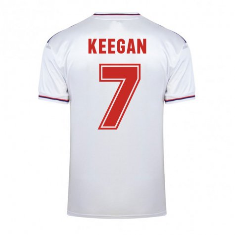 Score Draw England World Cup 1982 Home Shirt (Keegan 7)