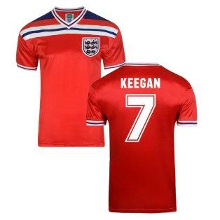 Score Draw England World Cup 1982 Away Shirt (Keegan 7)