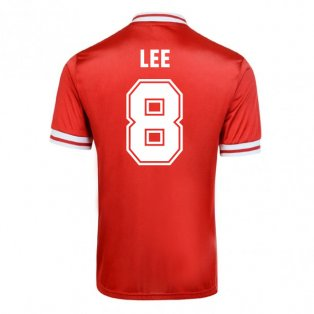 Score Draw Liverpool 1982 Home Shirt (Lee 8)