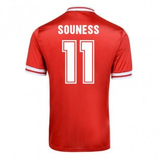 Score Draw Liverpool 1982 Home Shirt (Souness 11)