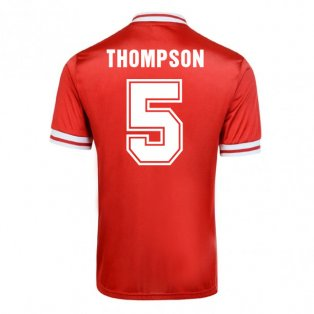 Score Draw Liverpool 1982 Home Shirt (Thompson 5)
