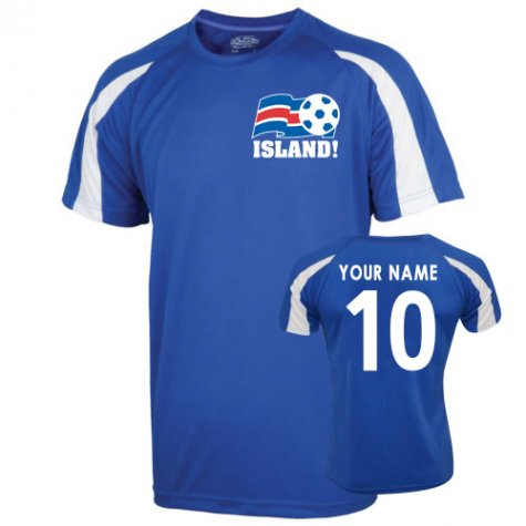 2016-17 Iceland Sports Training Jersey (Your Name)