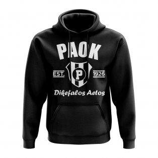 PAOK Established Hoody (Black)