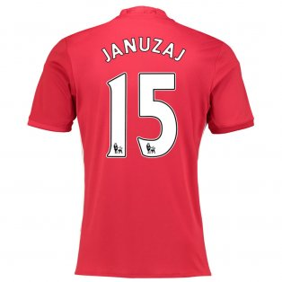 2016-17 Manchester United Home Shirt (Januzaj 15)