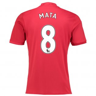 2016-17 Manchester United Home Shirt (Mata 8) - Kids