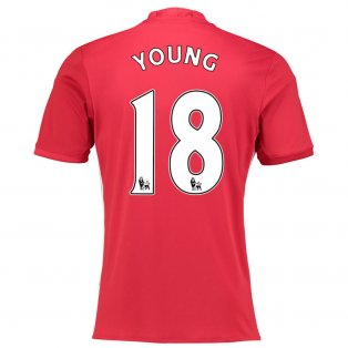 2016-17 Manchester United Home Shirt (Young 18) - Kids