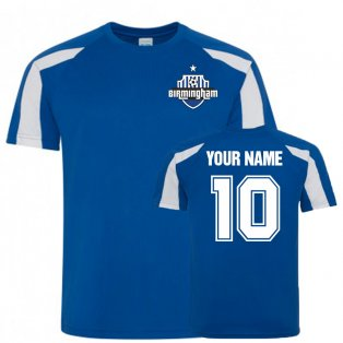Your Name Birmingham City Sports Training Jersey (Blue)