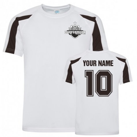Your Name Dunfermline Sports Training Jersey (White)
