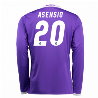 2016-17 Real Madrid Away Shirt (Asensio 20) - Kids