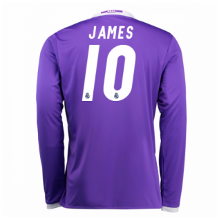 2016-17 Real Madrid Away Shirt (James 10) - Kids