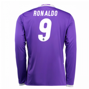 2016-17 Real Madrid Away Shirt (Ronaldo 9) - Kids