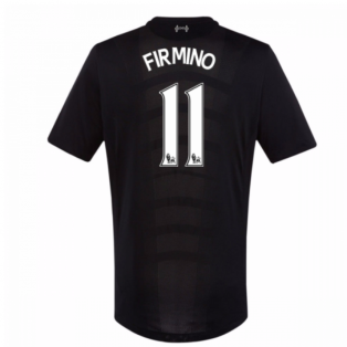 2016-17 Liverpool Away Shirt (Firmino 11) - Kids