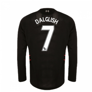 2016-17 Liverpool Away Long Sleeve Shirt (Dalglish 7) - Kids