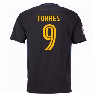 40d2c5459 2016-17 Atletico Madrid Away Shirt (Torres 9) - Kids
