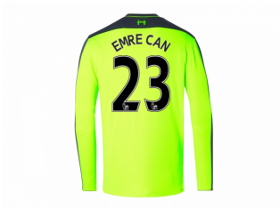2016-17 Liverpool Third Long Sleeve Shirt (Emre Can 23) - Kids