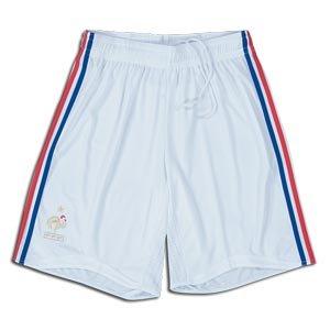 08-09 France home shorts - Kids