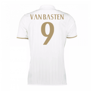 2016-17 AC Milan Away Shirt (Van Basten 9) - Kids