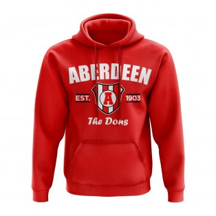 Aberdeen Established Hoody (Red)