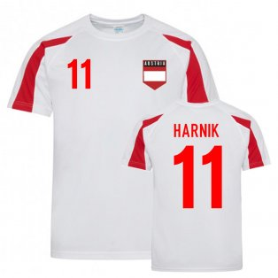 Martin Harnik Austria Sports Training Jersey (White)