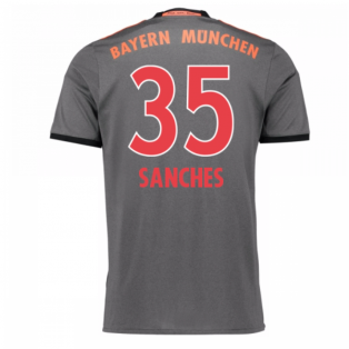 2016-17 Bayern Munich Away Shirt (Sanches 35) - Kids