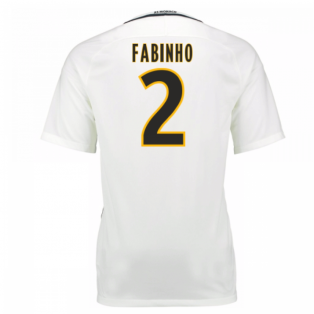 2016-17 Monaco Away Shirt (Fabinho 2) - Kids