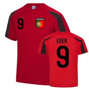 Eder Portugal Sports Training Jersey (Red-Black)